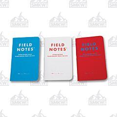 Field Notes Resolution Date & Checklist Journals Set