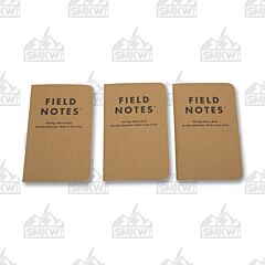 Field Notes Set of 3 Graph Paper Memo Books