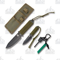 Frost Cutlery Survival Knife Set