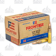 Hornady Frontier 5.56 NATO 55 Grain Full Metal Jacket Boat Tail - 1000 Rounds