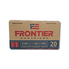 Hornady Frontier Cartridge 556 Nato 62 Grain Full Metal Jacket 20 Rounds