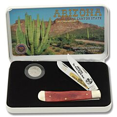 Frost Cutlery Arizona State Quarter & Trapper Collector Set