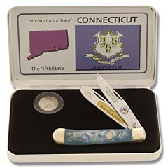 Frost Cutlery Connecticut State Quarter & Trapper Collector Set