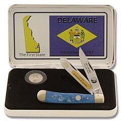 Frost Cutlery Delaware State Quarter & Trapper Collector Set