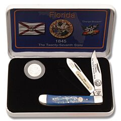 Frost Cutlery Florida State Quarter & Trapper Collector Set