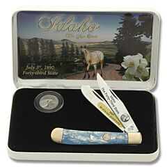 Frost Cutlery Idaho State Quarter & Trapper Collector Set