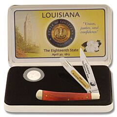 Frost Cutlery Louisiana State Quarter & Trapper Collector Set