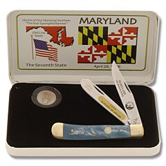 Frost Cutlery Maryland State Quarter & Trapper Collector Set