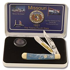 Frost Cutlery Missouri State Quarter & Trapper Collector Set