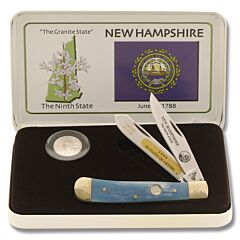 Frost Cutlery New Hampshire Quarter & Trapper Gift Set