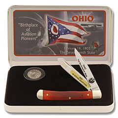 Frost Cutlery Ohio Quarter & Trapper Gift Set