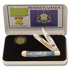 Frost Cutlery Pennsylvania Quarter & Trapper Gift Set