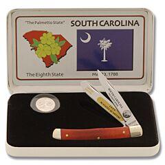 Frost Cutlery South Carolina Quarter & Trapper Gift Set