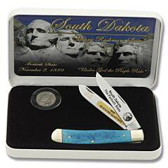 Frost Cutlery South Dakota Quarter & Trapper Gift Set