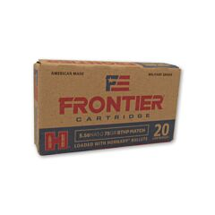 Hornady Frontier Cartridge 5.56x45 NATO 75 Grain Hornady Hollow Point 20 Rounds