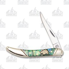 Frost Bulldog Brand Resin Coated Abalone Small Toothpick