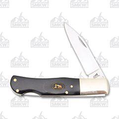 Frost Cutlery Black Hills Steel Buffalo Horn Lockback