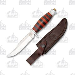Frost Cutlery Chipaway Red and Black Autumn Trail Bowie