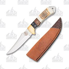 Frost Cutlery Chipaway Cutlery Torched Bone Beaver Tail Fixed Blade