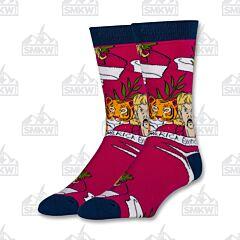 Oooh Yeah! Free Joe Exotic Men's Crew Socks