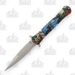 Frost Cutlery Wildlife Wolf Dagger