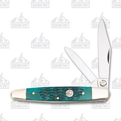 Frost Cutlery Iron Horse Green Bone Texas Jack