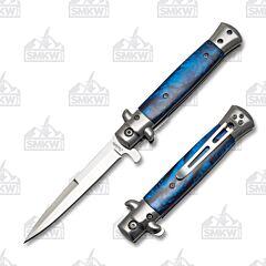 Frost Cutlery Milano Stiletto Blue