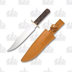 Frost Cutlery Joseph Rogers & Sons Brown Molasses Bowie