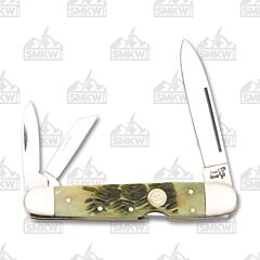 Frost Cutlery Antique Green Bone Whittler