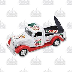 Frost Naughty-N-Nice Pin Up Girl Knife & Truck Set