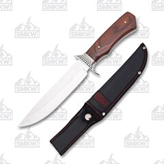 Frost Cutlery Sharps Cutlery Brown Pakkawood Fancy Bowie