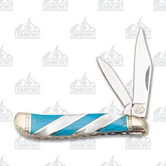 Frost Cutlery Silverhorse Stoneworks Turquoise & Pearl Peanut
