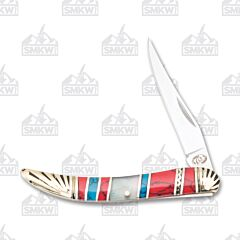 Frost Cutlery Silverhorse Stoneworks Mother of Pearl Little Toothpick
