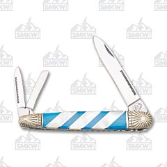 Frost Cutlery Silverhorse Stoneworks Turquoise & Pearl Whittler