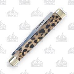 Steel Warrior Leopard Doctor's Knife