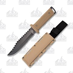 Frost Cutlery Tax Xtreme Tan Sawback Fighter