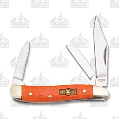 Frost Cutlery Uncle Lucky Orange Smooth Bone Swayback