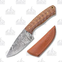 Frost Cutlery Valley Forge Damascus Hunter