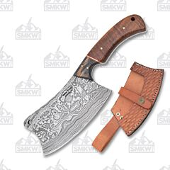 Frost Cutlery Valley Forge Damascus Cleaver