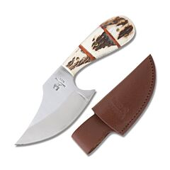 Frost Cutlery Whitetail Cutlery Stag Ulu Skinner Stainless Steel Blade