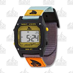 Freestyle Shark Classic Clip Turquoise, Black, and Mustard Watch