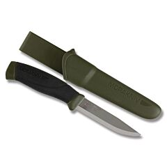 Morakniv Companion Knife Black and Military Green