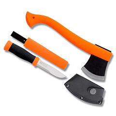 Morakniv Outdoor Kit  Hatchet and Fixed Blade