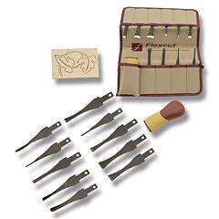 Flexcut Eleven-Piece Craft Carver Set