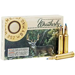 Weatherby Select 257 Weatherby Magnum 100 Grain Norma Spitzer 20 Rounds