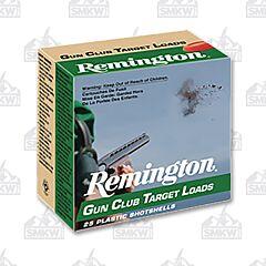 "Remington Gun Clup Target Loads 12GA 2-3/4"" #8 Lead 25 Rounds"