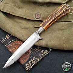 Vintage German Stag Fixed Blade