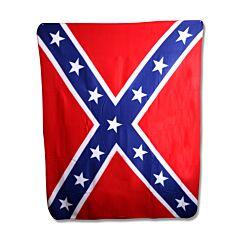 """Rebel Flag 50"""" x 60"""" Throw Blanket Model GFLGBTHW"""