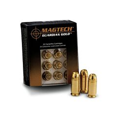 Magtech Guardian Gold 40 S&W 155 Grain Jacketed Hollow Point 20 Rounds