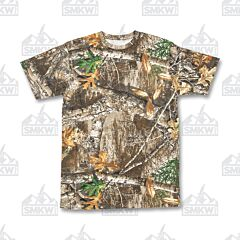 Berne Workwear Shortshot Pocket Tee Realtree Edge